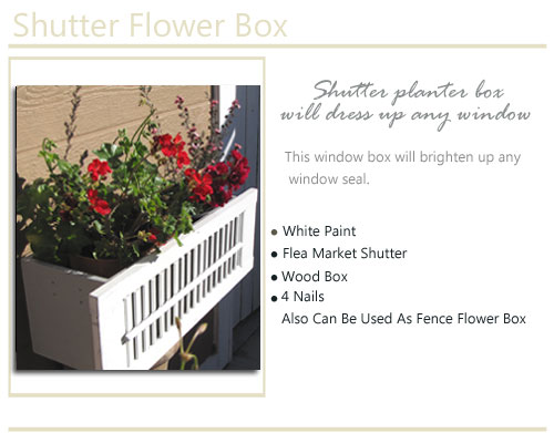 San Diego Reusable Finds Flower Box